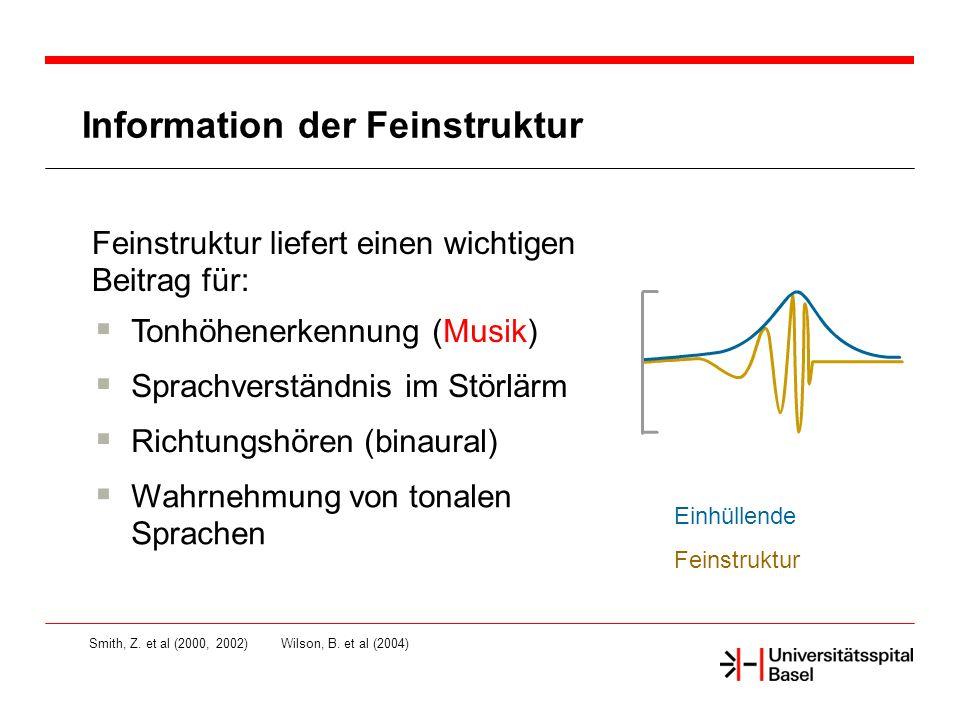 Information der Feinstruktur