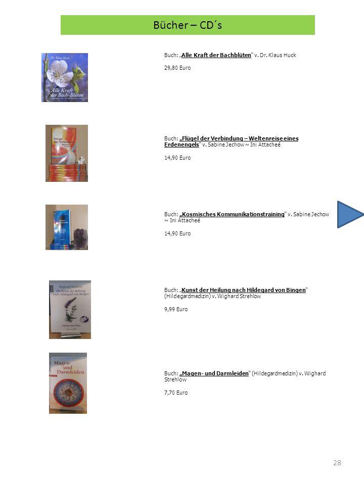 "Bücher – CD´s Buch: ""Alle Kraft der Bachblüten v. Dr. Klaus Huck"