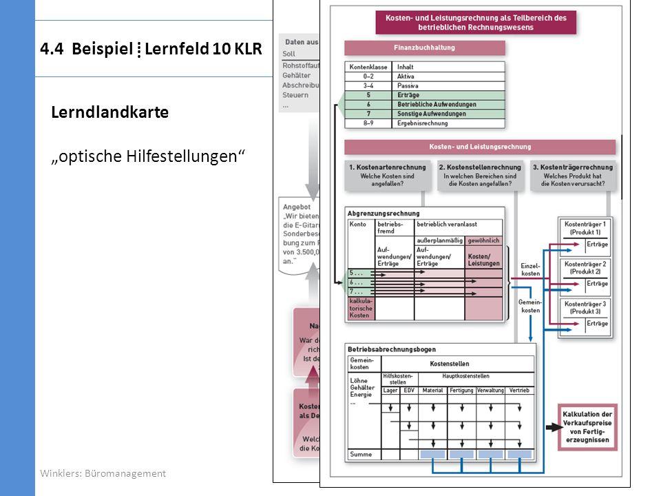 4.4 Beispiel ⁞ Lernfeld 10 KLR