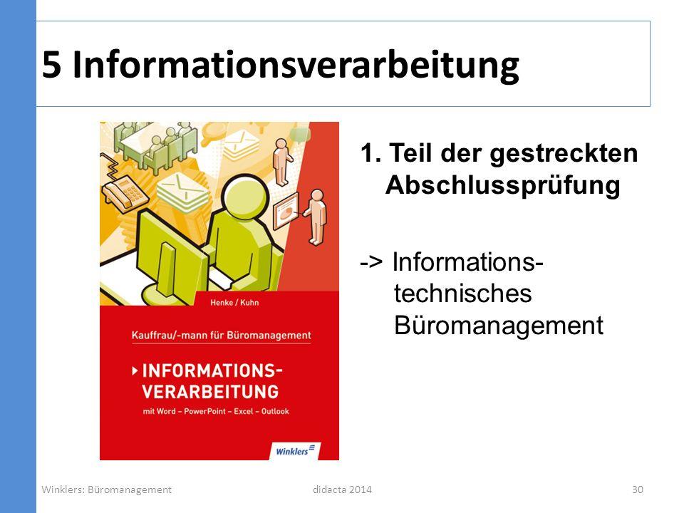 5 Informationsverarbeitung