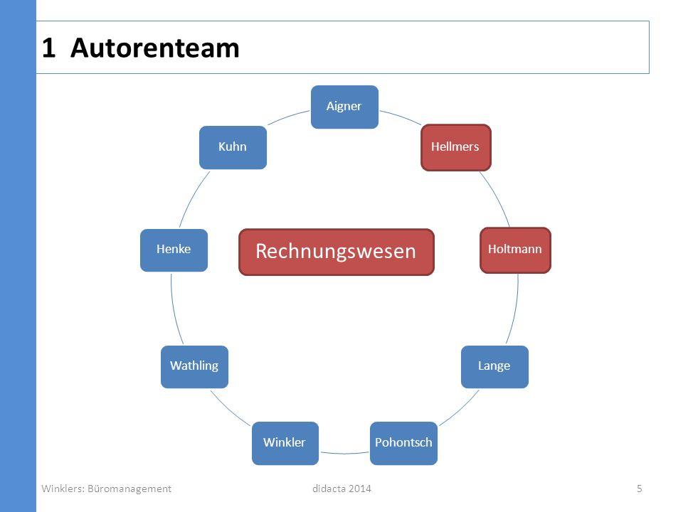 1 Autorenteam Rechnungswesen Aigner Hellmers Holtmann Lange Pohontsch