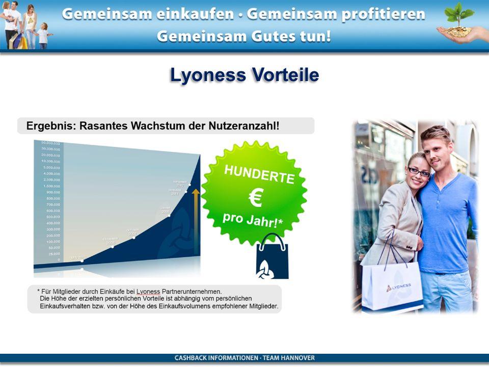 Lyoness Vorteile