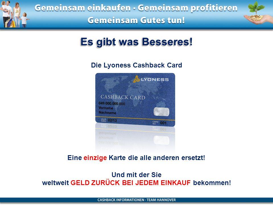 Die Lyoness Cashback Card