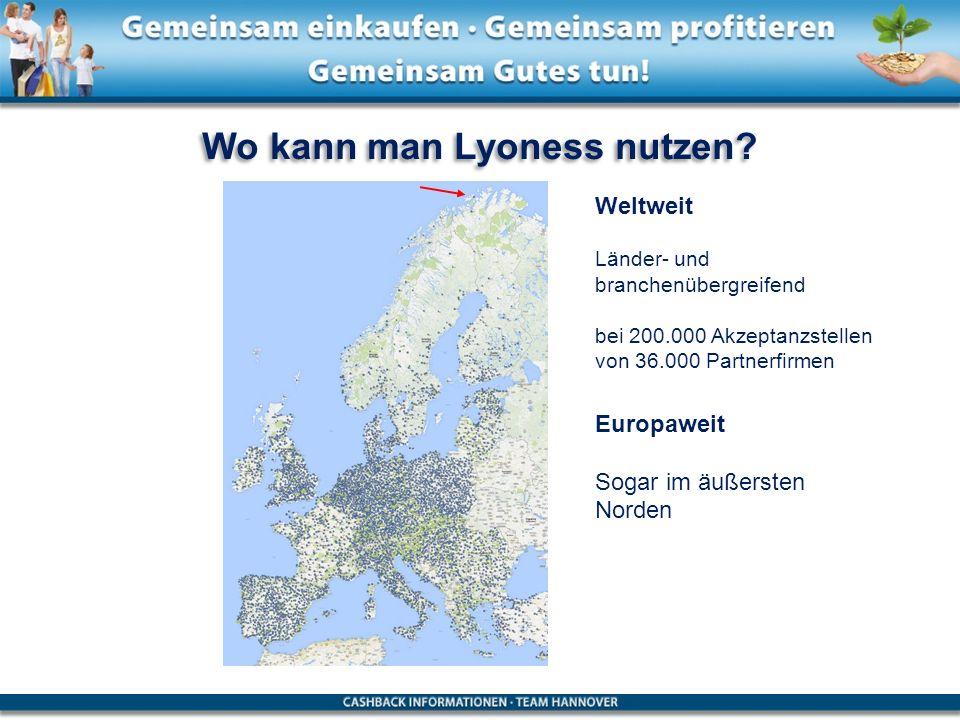 Wo kann man Lyoness nutzen