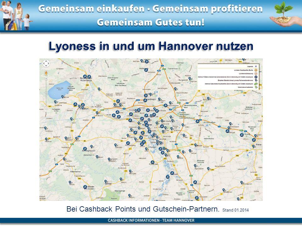 Lyoness in und um Hannover nutzen