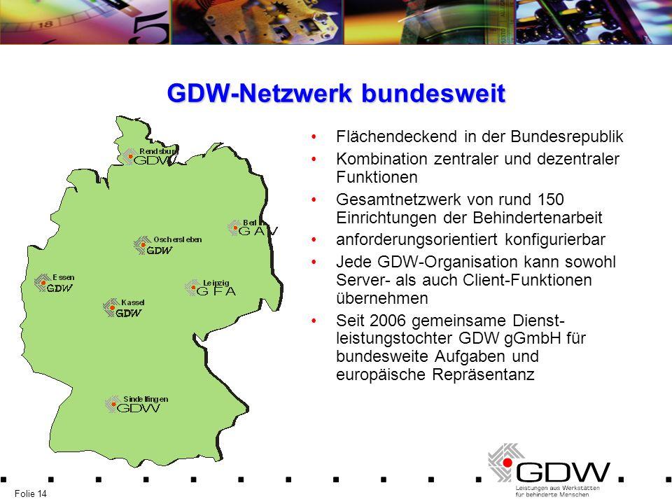 GDW-Netzwerk bundesweit