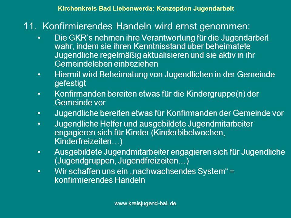 Kirchenkreis Bad Liebenwerda: Konzeption Jugendarbeit