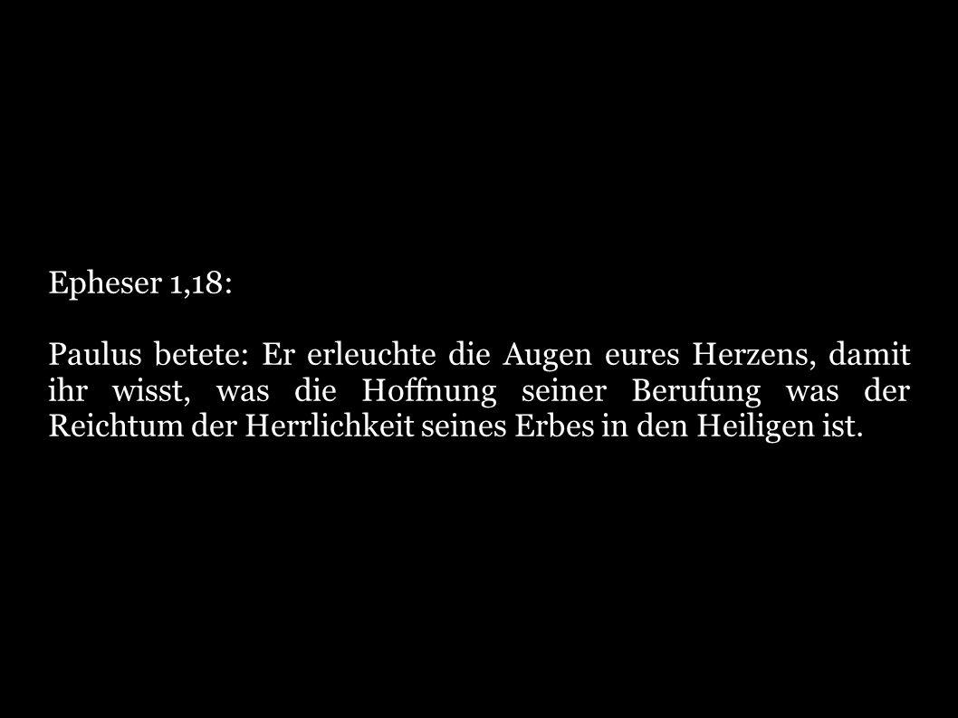 Epheser 1,18: