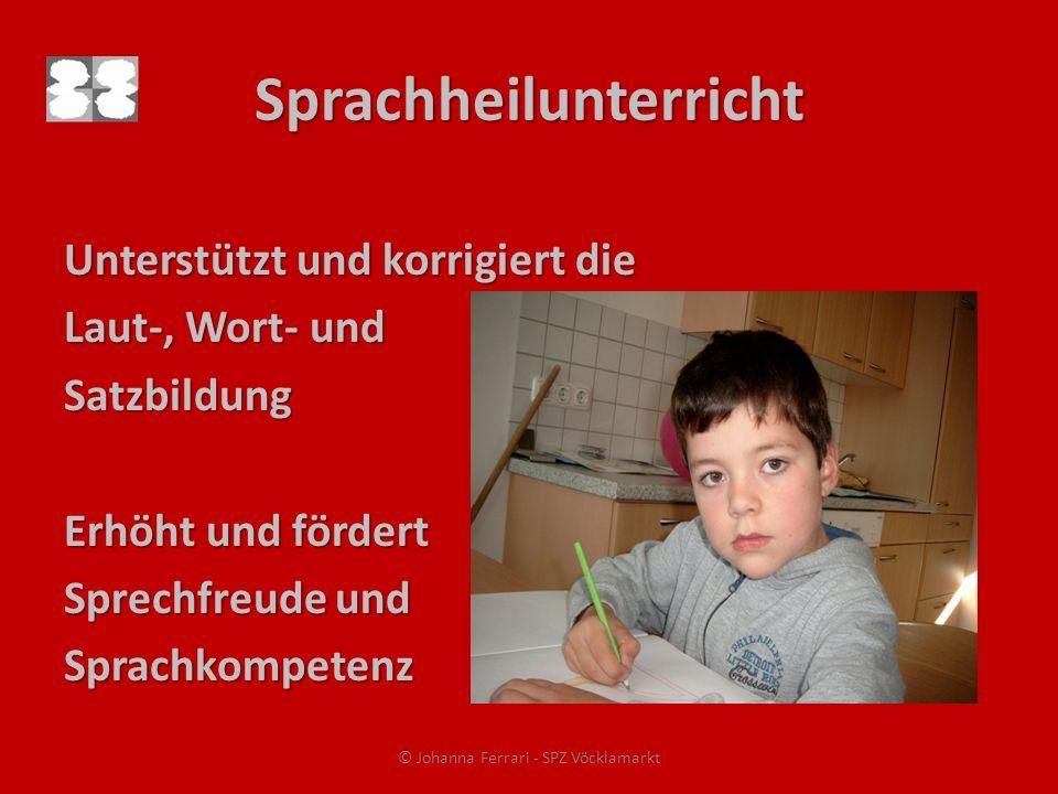 Sprachheilunterricht