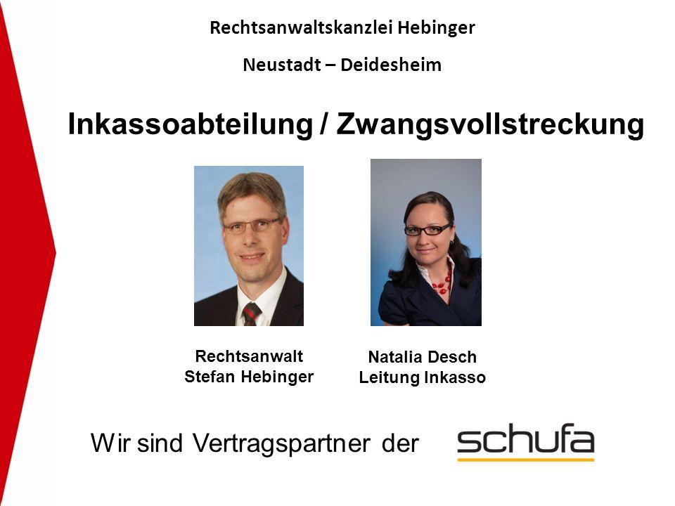 Rechtsanwaltskanzlei Hebinger