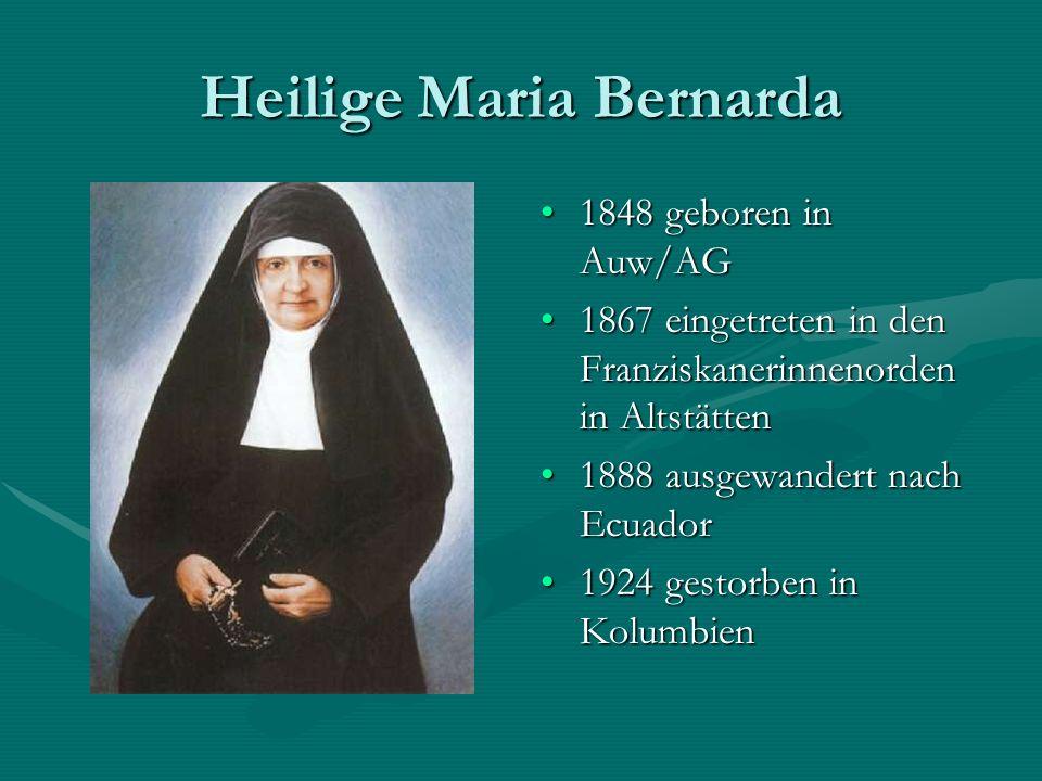 Heilige Maria Bernarda