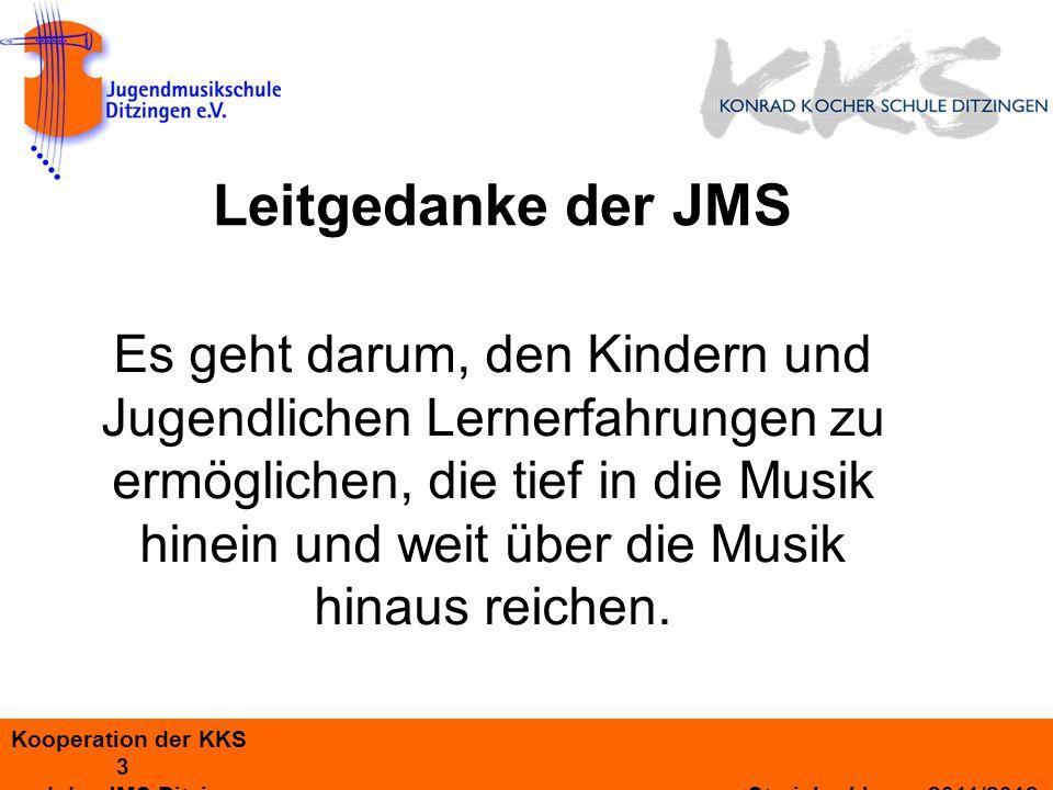 Leitgedanke der JMS