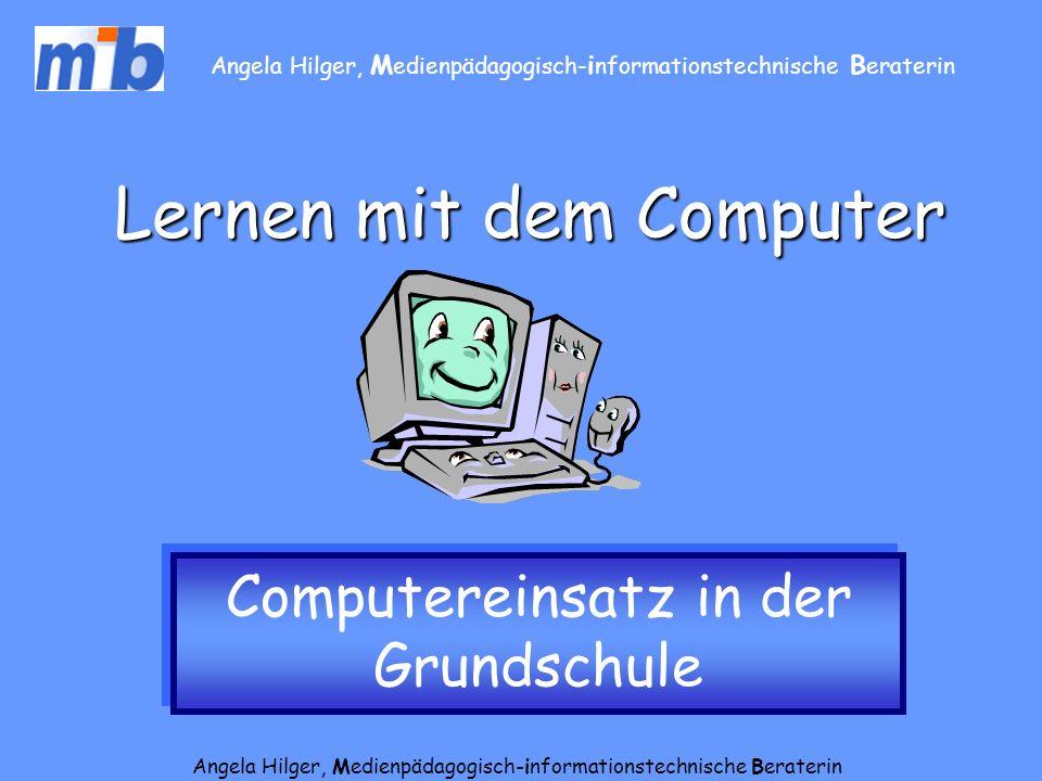 Lernen mit dem Computer