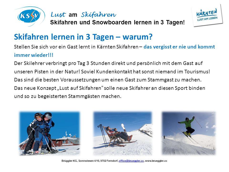 Skifahren lernen in 3 Tagen – warum