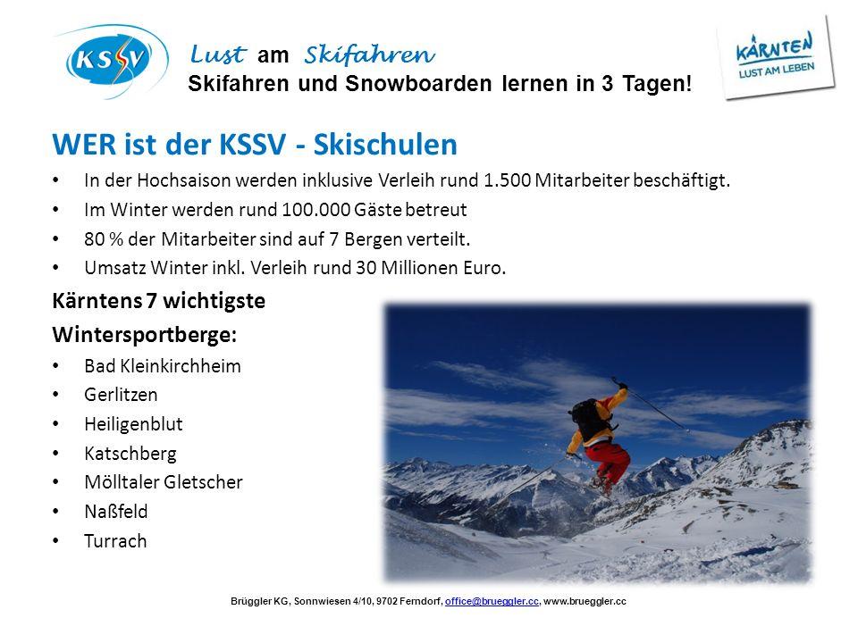 WER ist der KSSV - Skischulen