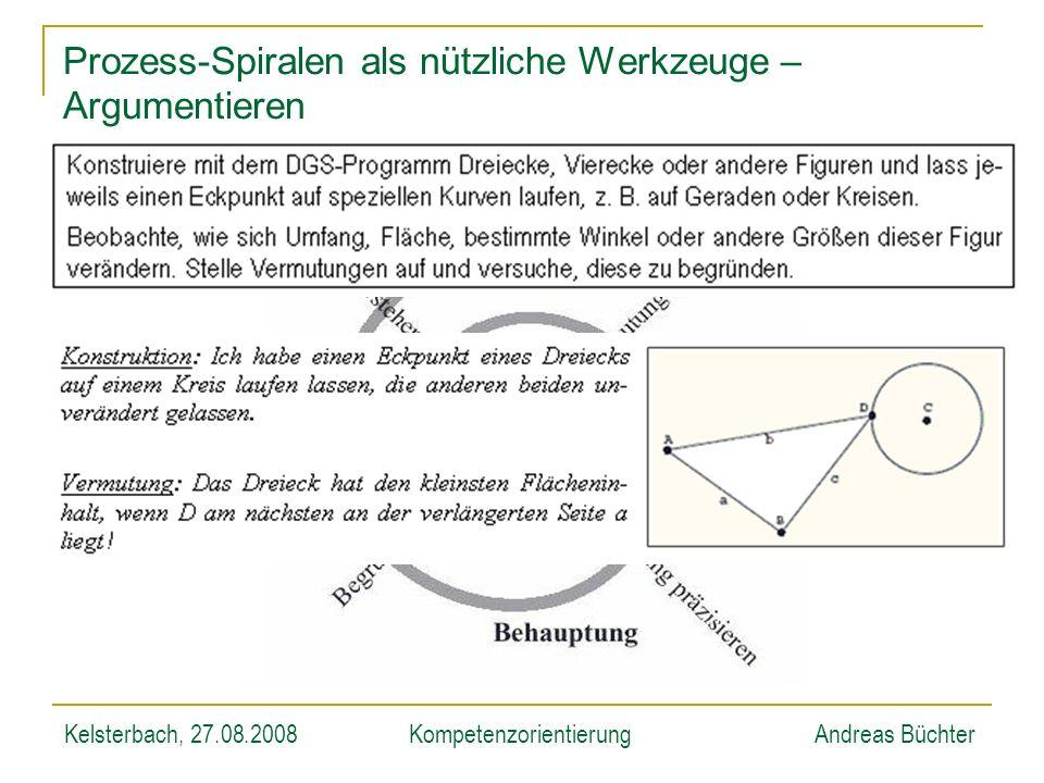 Prozess-Spiralen als nützliche Werkzeuge – Argumentieren