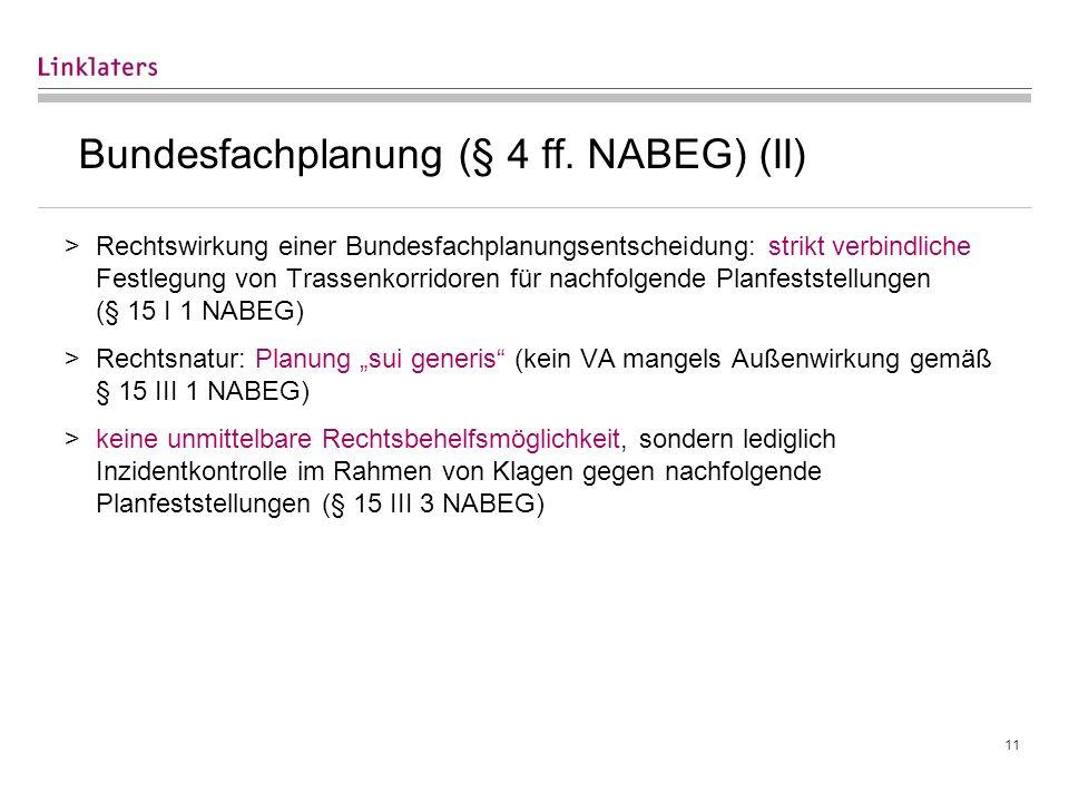 Planfeststellung (§§ 18 ff. NABEG)