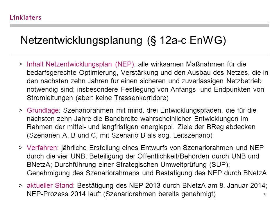Bundesbedarfsplanung (§ 12e EnWG)