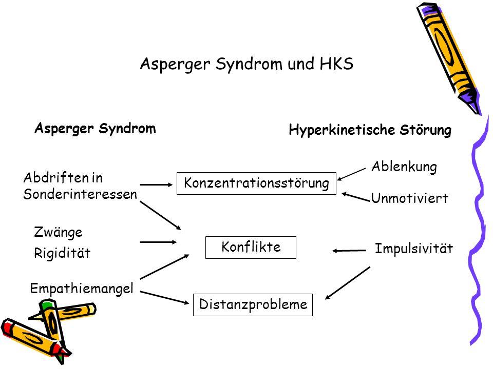 Asperger Syndrom und HKS