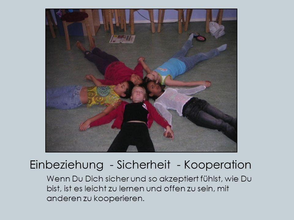 Einbeziehung - Sicherheit - Kooperation