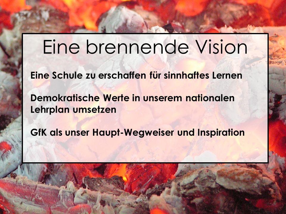 Eine brennende Vision Eine Schule zu erschaffen für sinnhaftes Lernen