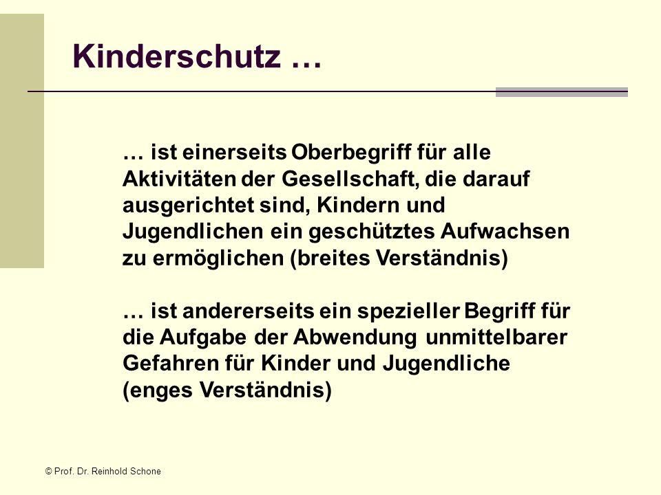 Kinderschutz …
