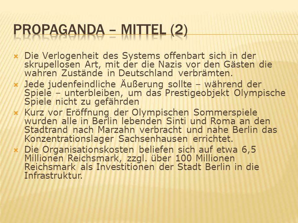 Propaganda – Mittel (2)