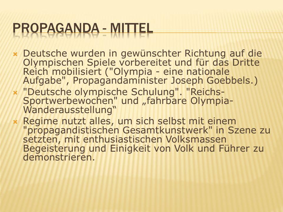 Propaganda - Mittel