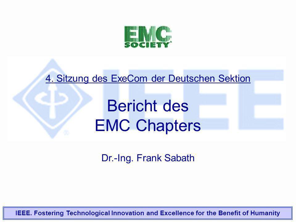 Bericht des EMC Chapters