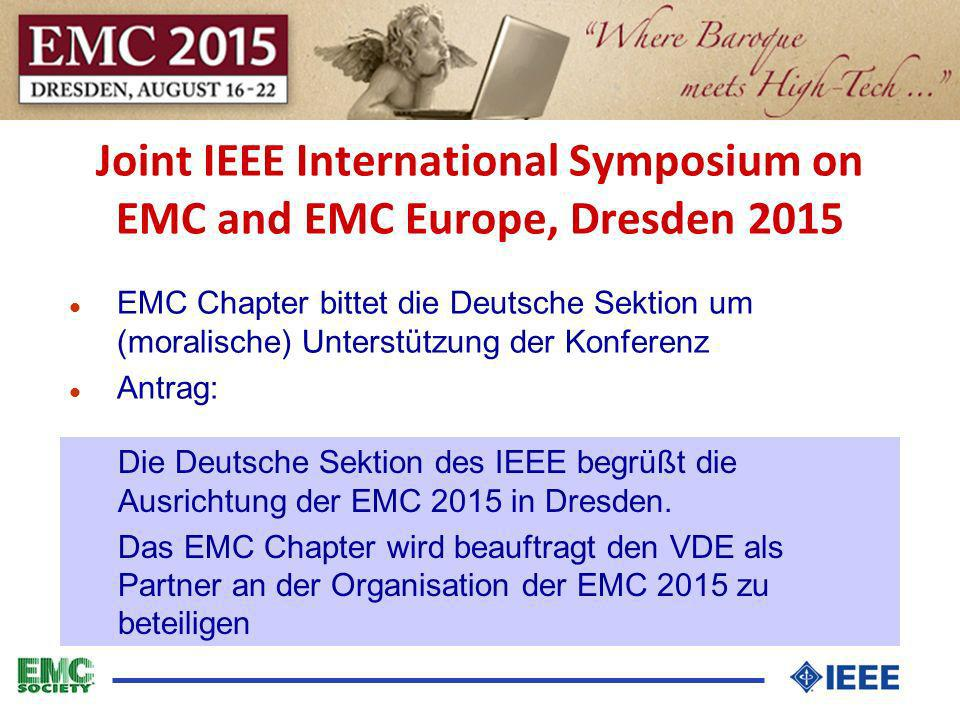 Joint IEEE International Symposium on EMC and EMC Europe, Dresden 2015