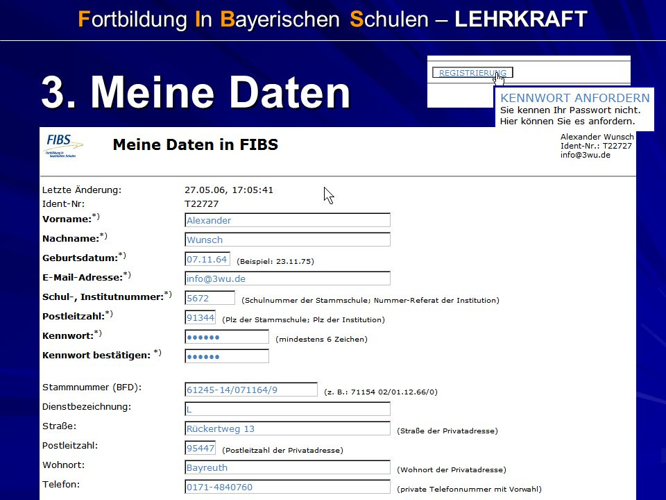 Fortbildung In Bayerischen Schulen – LEHRKRAFT