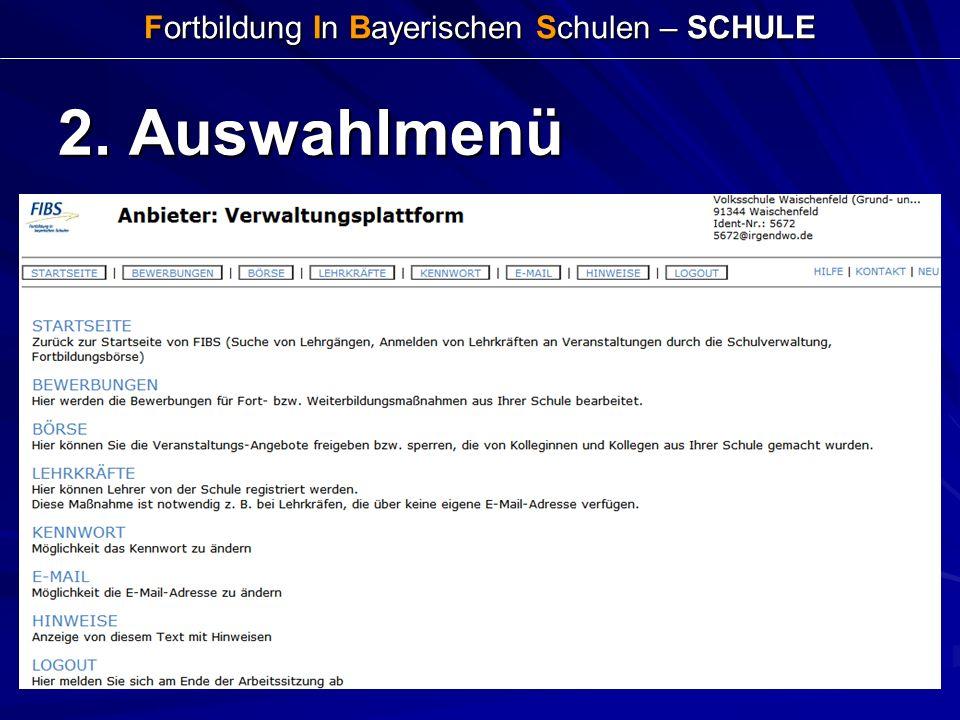 Fortbildung In Bayerischen Schulen – SCHULE