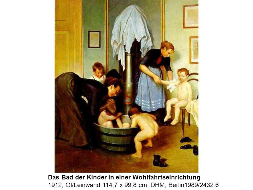 Das Bad der Kinder in einer Wohlfahrtseinrichtung