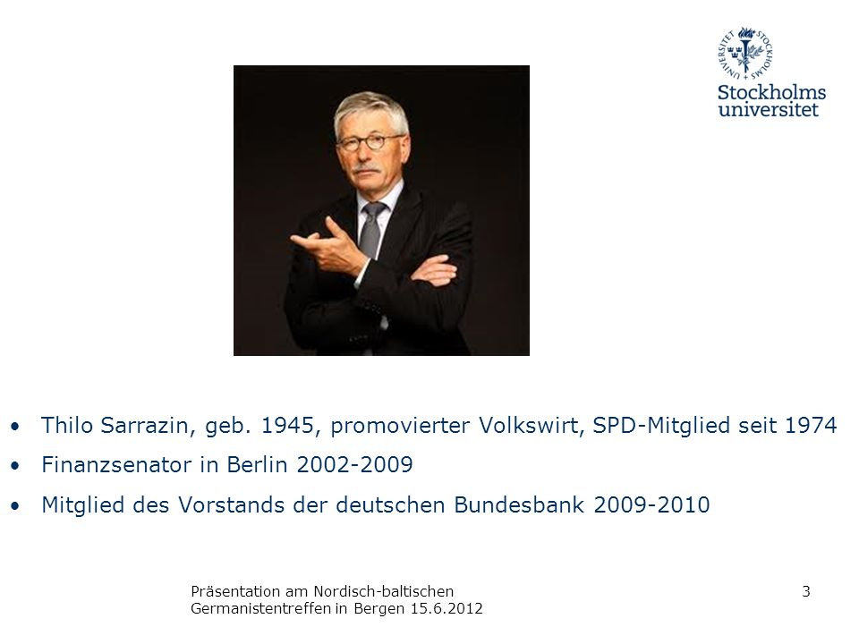 Finanzsenator in Berlin 2002-2009