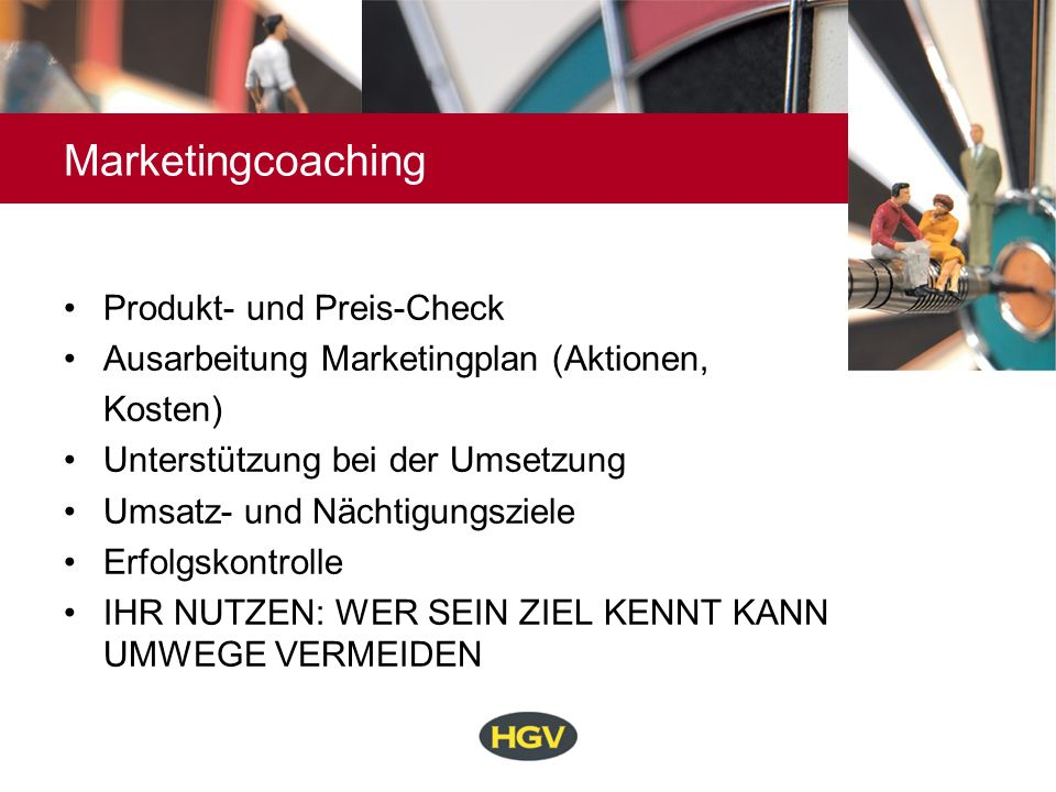 Marketingcoaching Produkt- und Preis-Check