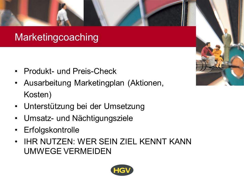 Marketingcoaching Produkt- und Preis-Check