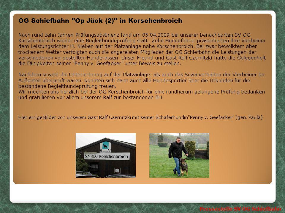 OG Schiefbahn Op Jück (2) in Korschenbroich