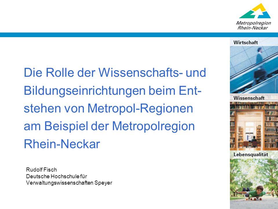 Rudolf Fisch Deutsche Hochschule für Verwaltungswissenschaften Speyer