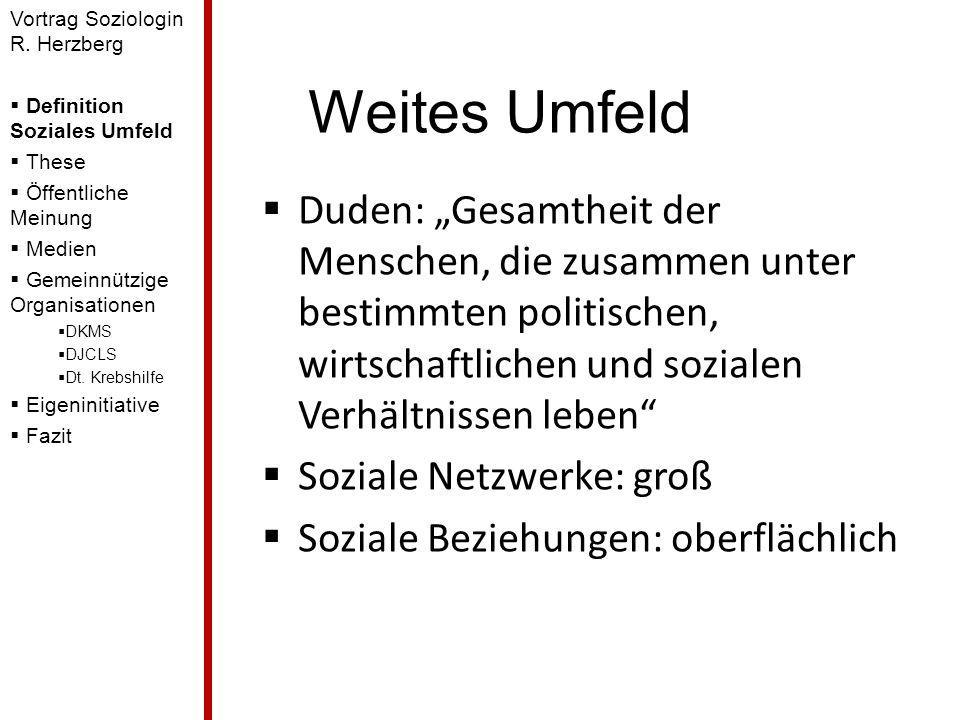 Vortrag Soziologin R. Herzberg