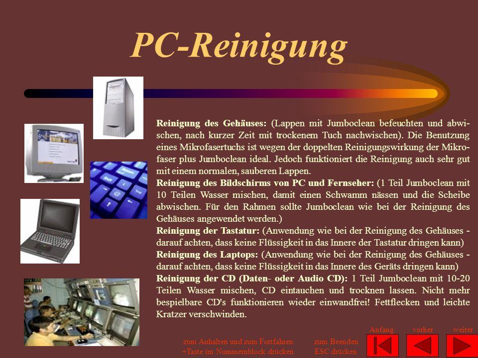 PC-Reinigung
