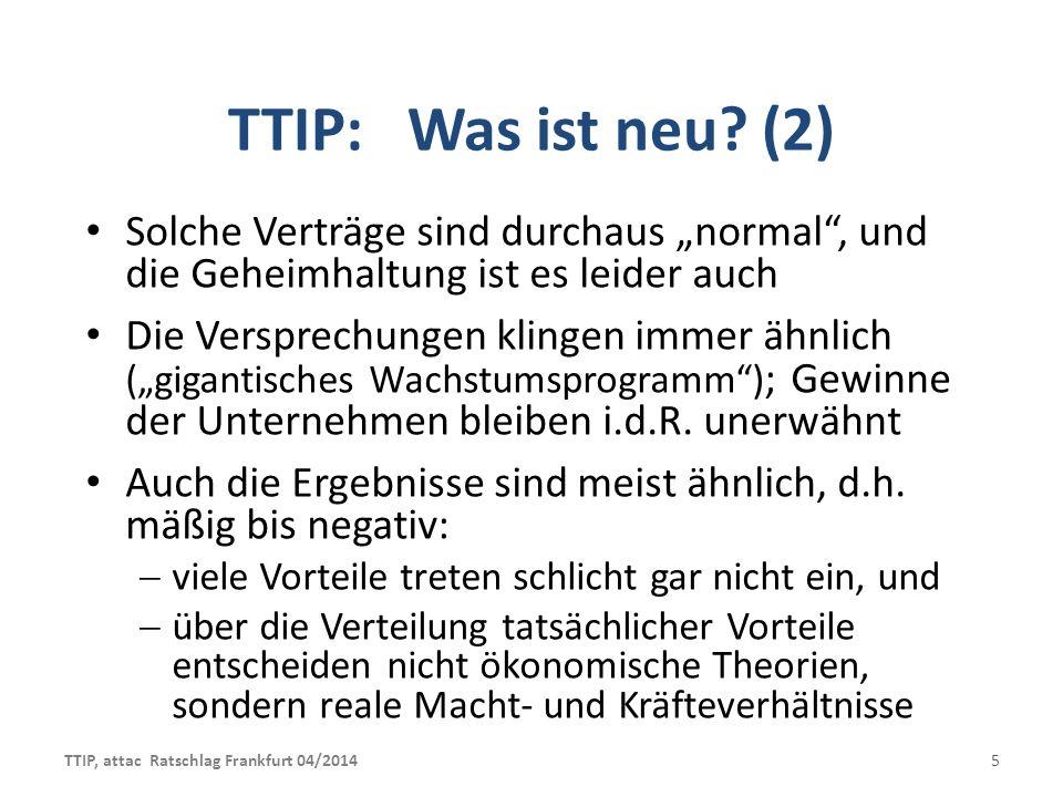 """TTIP: Was ist neu (2) Solche Verträge sind durchaus """"normal , und die Geheimhaltung ist es leider auch."""