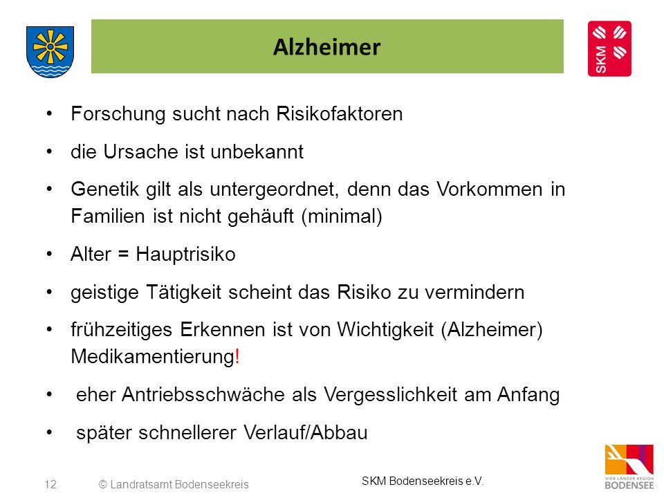 Alzheimer Forschung sucht nach Risikofaktoren