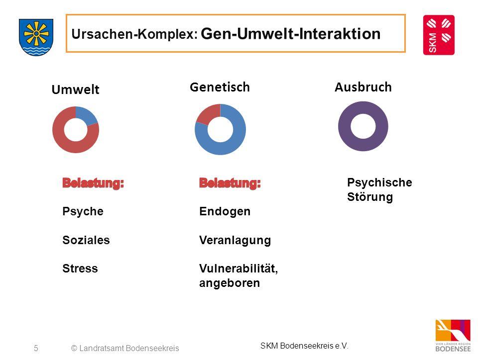 Ursachen-Komplex: Gen-Umwelt-Interaktion