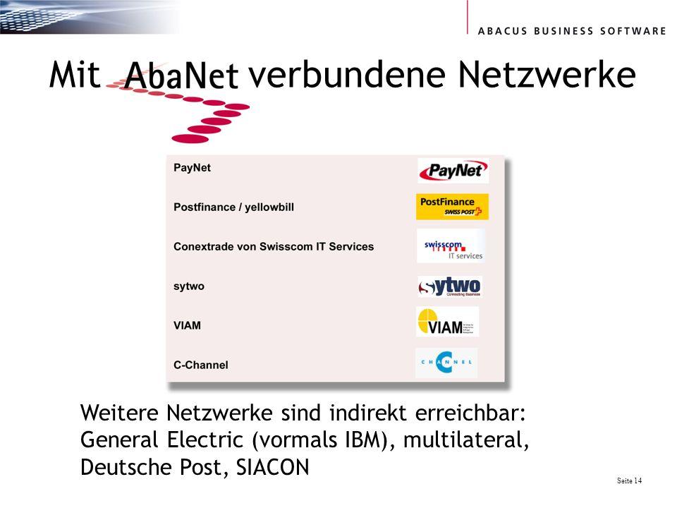 Mit verbundene Netzwerke