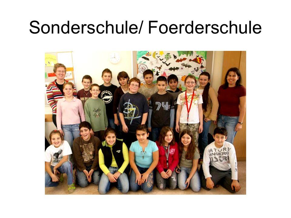 Sonderschule/ Foerderschule