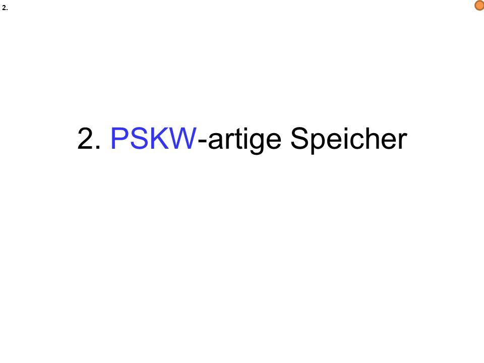2. 2. PSKW-artige Speicher