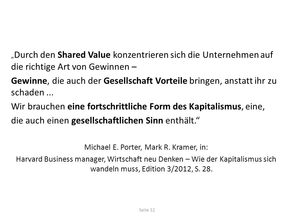 Michael E. Porter, Mark R. Kramer, in:
