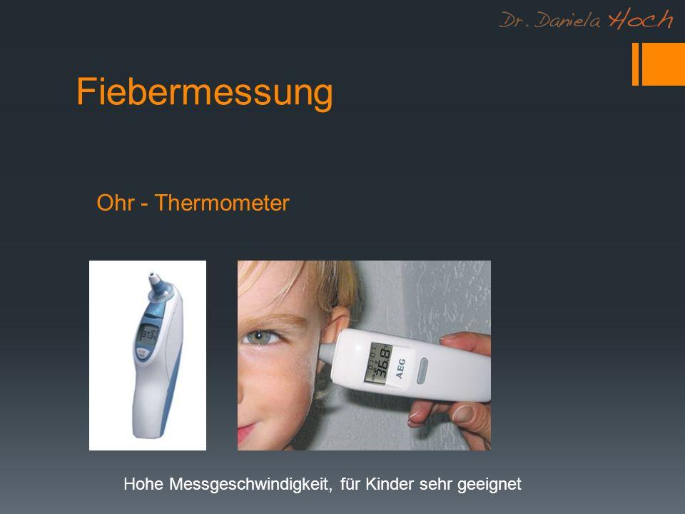 Fiebermessung Ohr - Thermometer