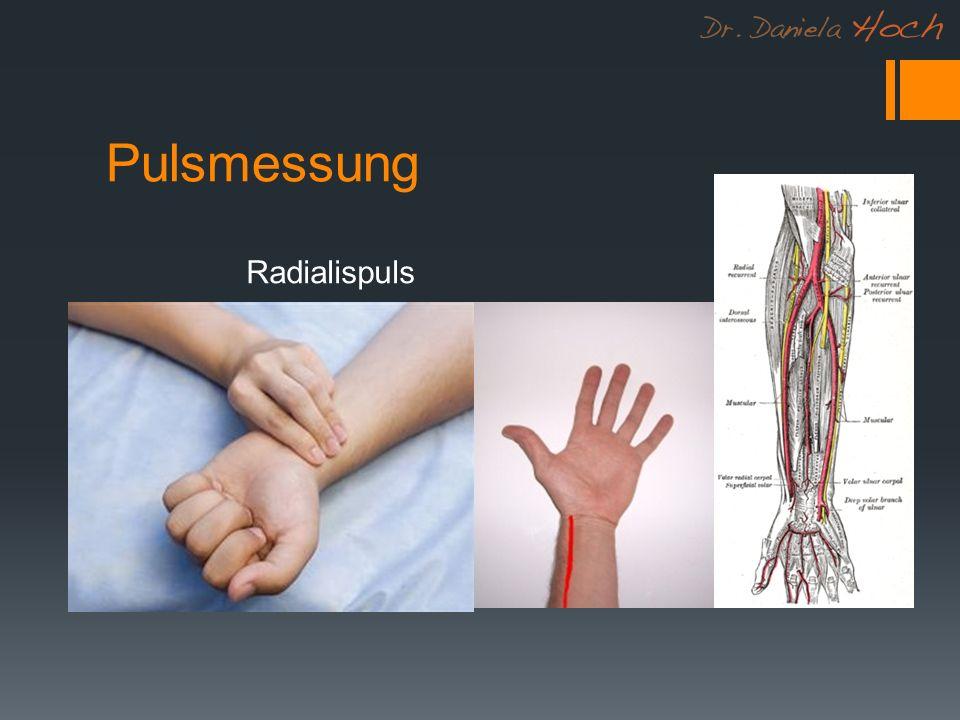 Pulsmessung Radialispuls