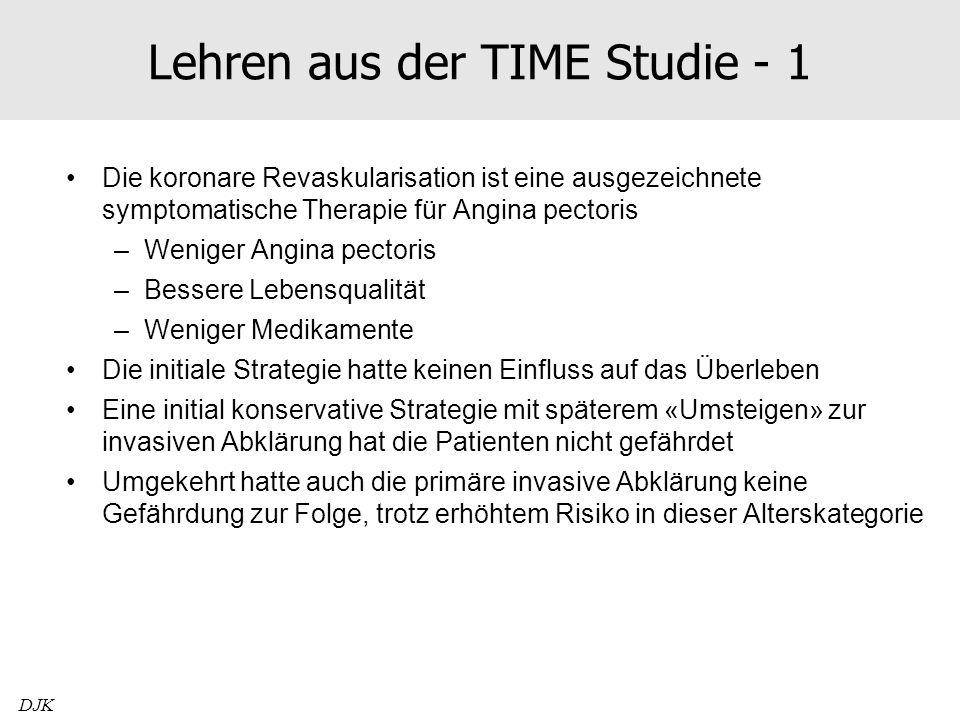 Lehren aus der TIME Studie - 1